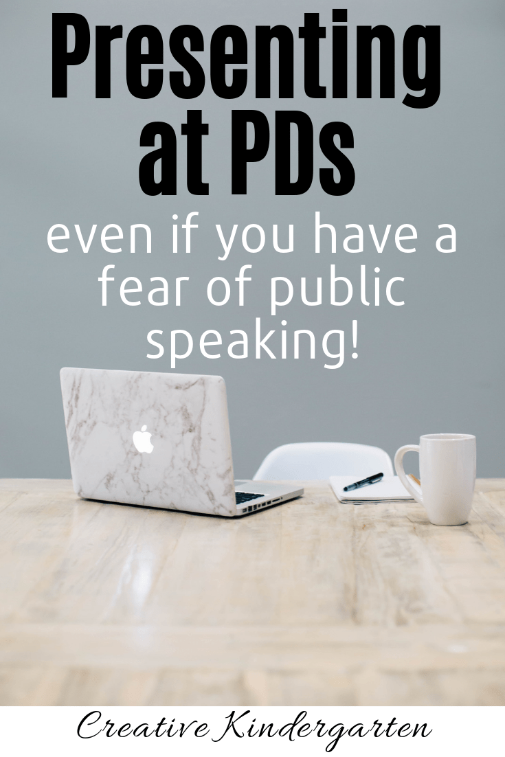 Tip for presenting at PDs, even if you have a fear of public speaking. Share your knowledge with your peers, and present about topics you love.