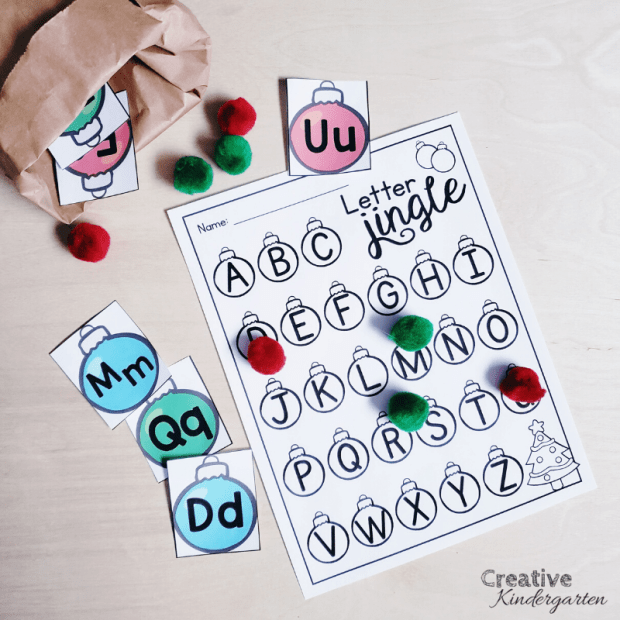 Need to practice letter recognition and formation? This Letter Jingle activity is perfect! There are lots of different recording pages to choose from, so you can easily differentiate this center.