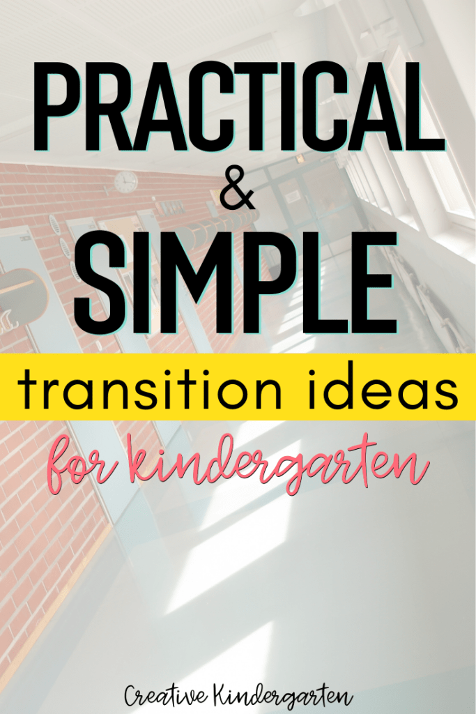 Transitions in kindergarten can be a great opportunity for students to practice different skills. Get ideas for transitions activities for your kindergarten classroom.