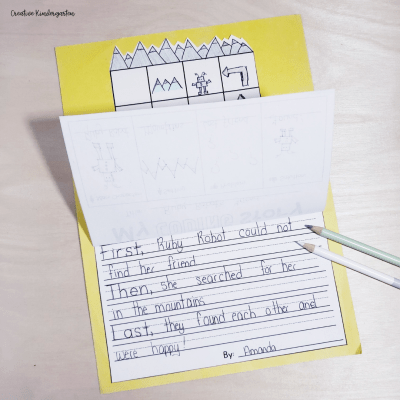 Practice creative writing with this story elements writing prompt. Students will also practice their beginner coding skills.