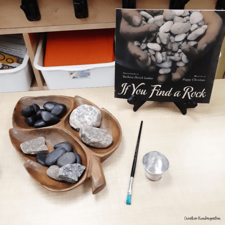 Use wooden trays or baskets to store loose parts and other materials for your provocations or learning centers in your kindergarten classroom.