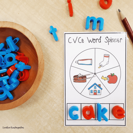 Challenge your students to spell out CVCe words with these fun activities.