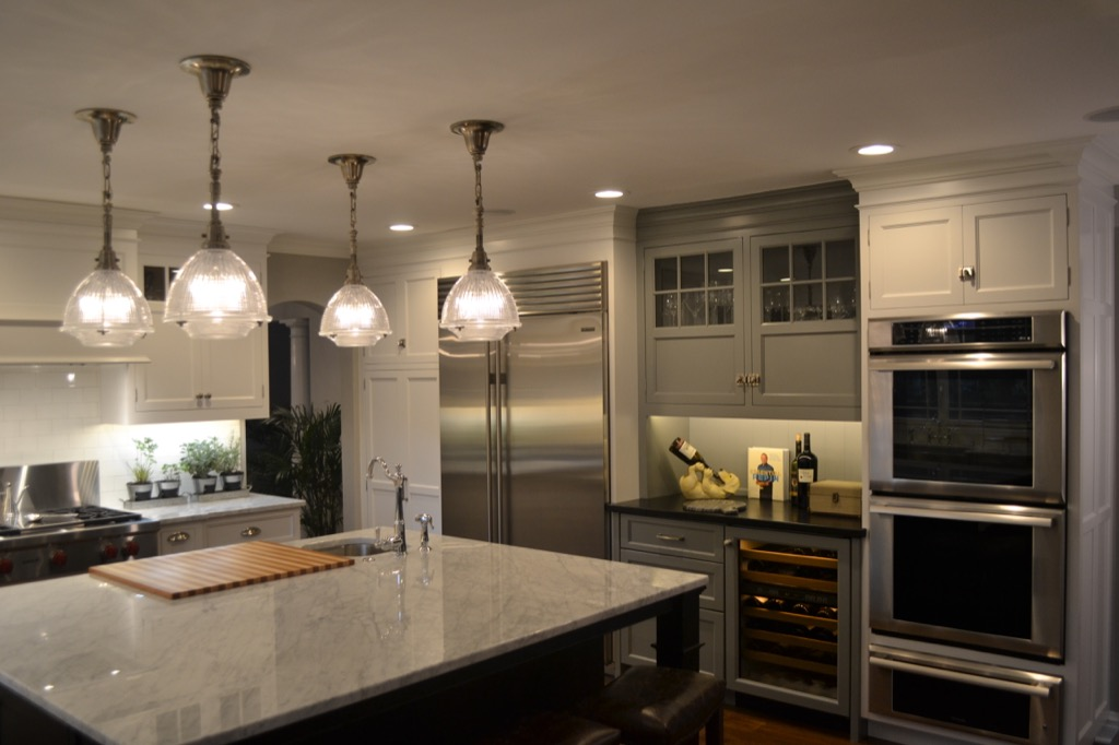 kitchen lights hanging cool islands patriot court - custom project|creative kitchens
