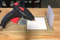 Hot Glue Gun Holder Plans DIY Free Download rolltop ...