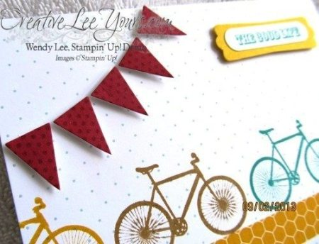 August 2013 Pedal Praise Paper Pumpkin Kit