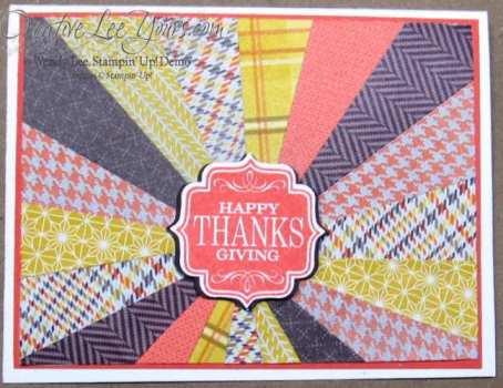 thanksgiving starburst