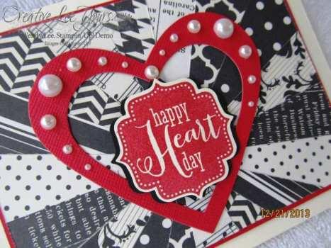 Valentine starburst card