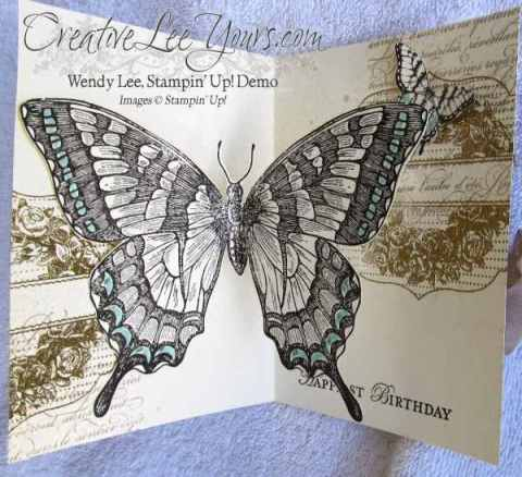 Butterfly Pop Up Card