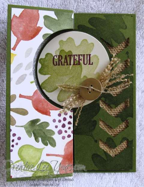 grateful for all things flip card