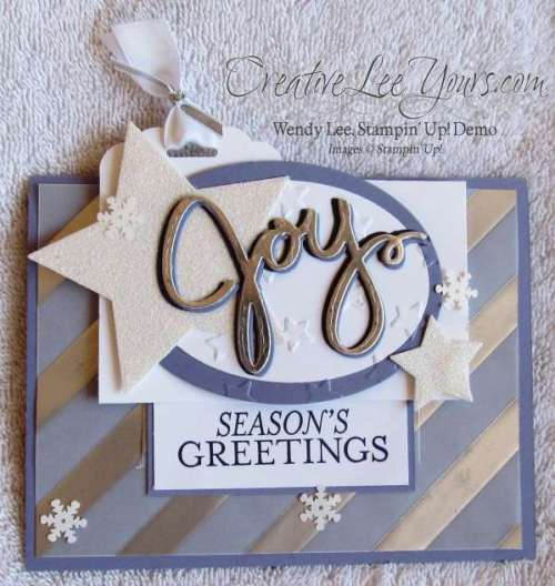 Seasons Greeting Joy By Wendy Lee