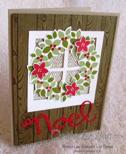 Wondrous Wreath Noel by wendy lee