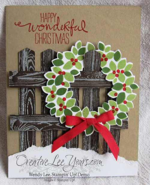 Wondrous Wreath Christmas by wendy lee