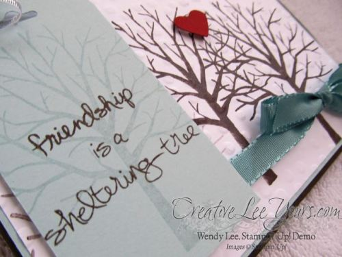 sheltering tree by Maryan Binkley, #creativeleeyours, Stampin' Up!, Card