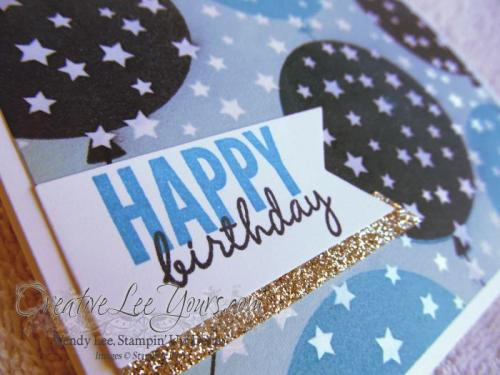 Happy Birthday Balloons by Wendy Lee, #creativeleeyours, Stampin' Up!, #SAB2015, Irresistibly Yours DSP, Celebrate Today stamp set