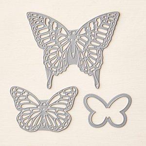 butterflies thinlits, stampin Up, #creativeleeyours, wendy lee