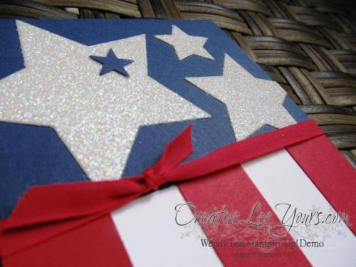 Stars and Stripes by Wendy Lee, #creativeleeyours, Stampin' Up!, masculine card