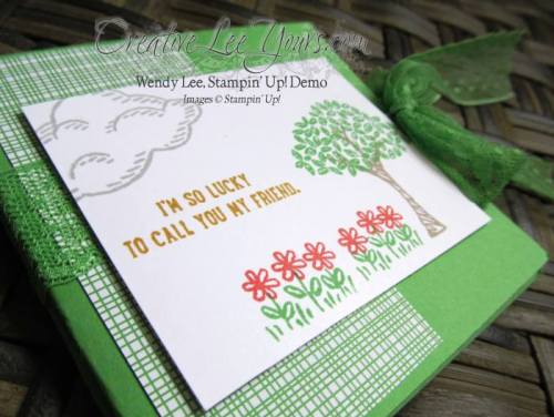 Sprinkles of Life Squah Card by Jennifer Harrell, #creativeleeyours, Stampin' Up!, Diemonds team swap