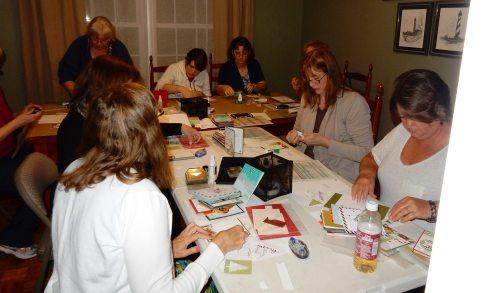 September 2015 Diemonds team meeting, #creativeleeyours, Wendy Lee, Stampin' Up!