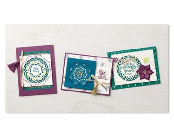 Eastern Palace premier bundle, Stampin Up, Wendy lee, #creativeleeyours, pdf instructions