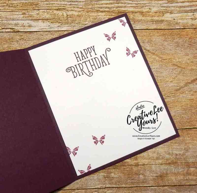 Moving Butterfly by Wendy Lee,stampin up, stamping, rubber stamps, handmade card, you move me stamp set, happy birthday gorgeous stamp set, move me thinlits, cupcake cutout framelits,july 2017 fmn class