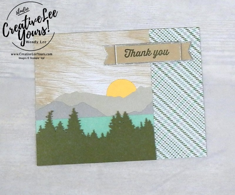 May 2018 Manly Moments Paper Pumpkin Kit alternate by wendy lee