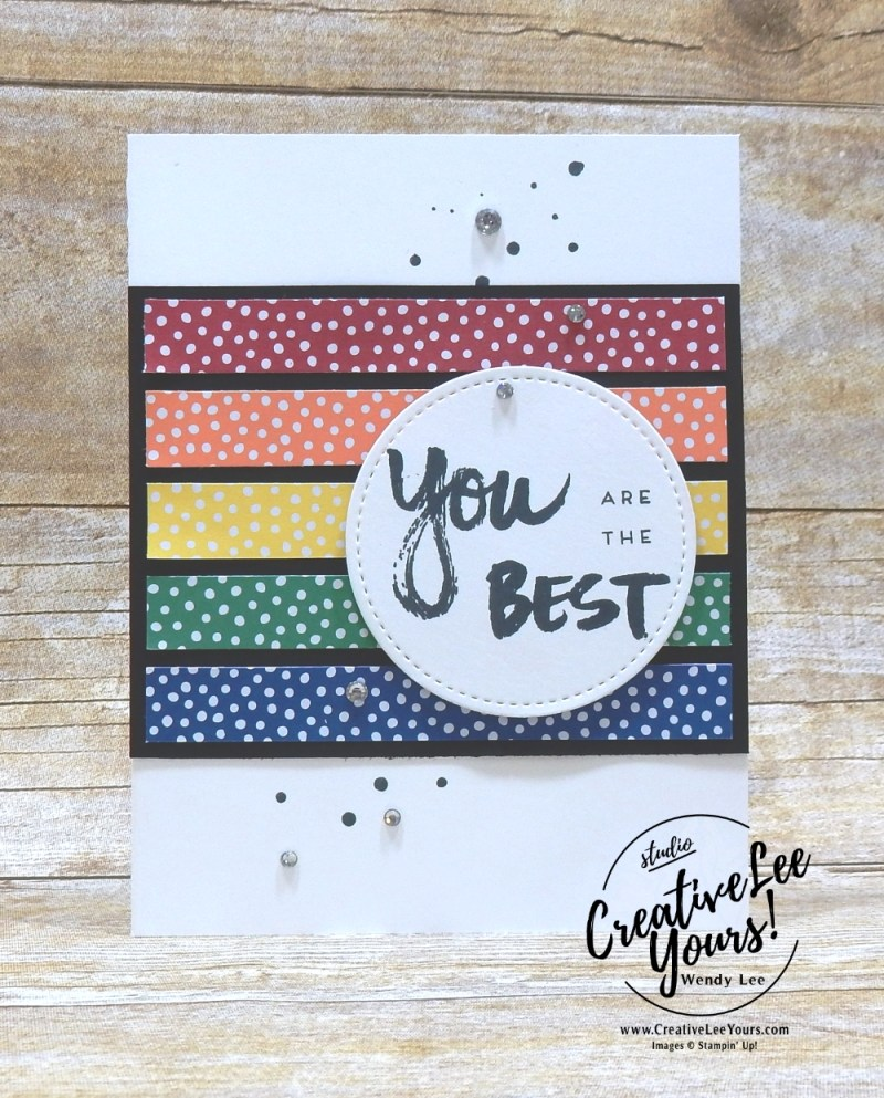 Stampin up 2018 2019 new catalog party with Wendy Lee, #creativeleeyours, creatively yours, creative-lee yours, open house, handmade, stamping, SU,April 2017 A Sara Thing Paper Pumpkin Kit ,rubber stamps, stamping, kit, subscription, birthday, thank you, congrats, friend, SU cards, alternate, alternate, masculine