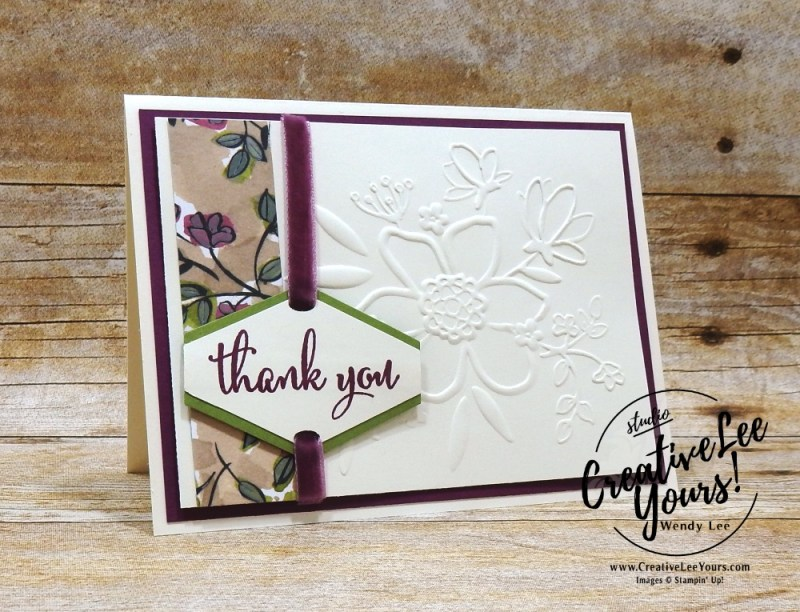 wendy lee, Tailored Thank You by aimee smith,Stampin Up, stamping, handmade card, friend, thank you, birthday, #creativeleeyours, creatively yours, creative-lee yours, diemonds team swap, love what you do stamp set, SU, SU cards, rubber stamps
