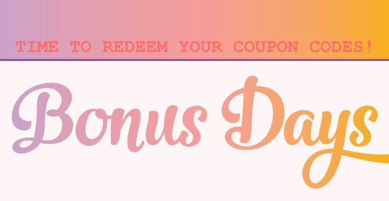 bonus days, stampin up, #creativeleeyours, wendy lee, creatively yours, rubber stamps, stamping, handmade cards, memory keeping, scrapbooking, creative-lee yours, SU, SU cards, promotion, $5 coupon