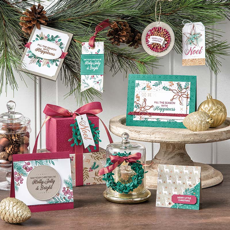 Peaceful Noel Bundle by Stampin' Up! Video, Wendy Lee, stampin Up, #creativeleeyours, hand made, stamping, SU, creatively yours, creative-lee yours, product tips, paper crafting, DIY, christmas, holiday gifts