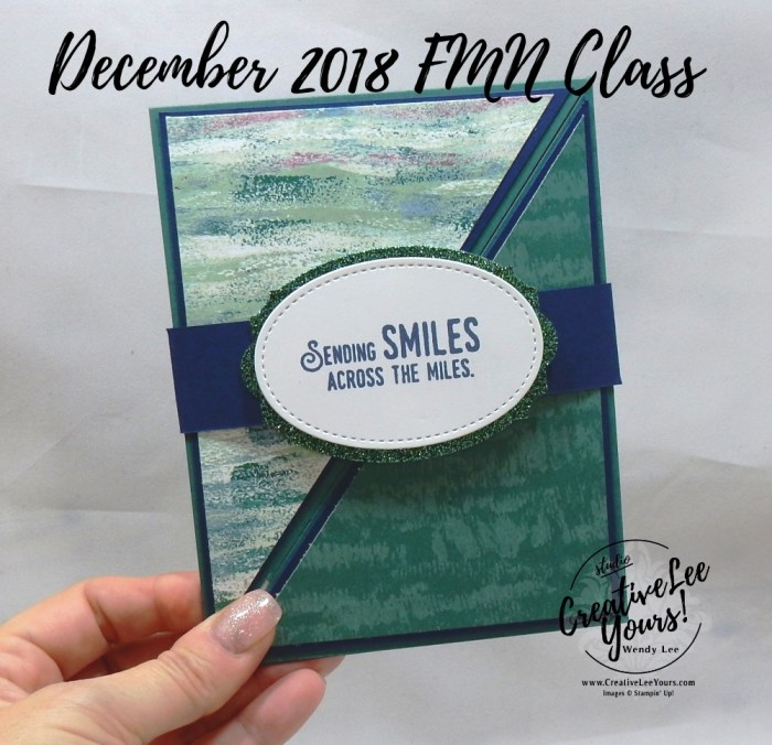 Diagonal Fun Fold Birthday by Wendy Lee, Tutorial, card club, stampin Up, SU, #creativeleeyours, hand made card, thankful, gratitude, congratulations, birthday, celebration, stamping, creatively yours, creative-lee yours, lift me up stamp set, DIY, FMN, forget me knot, December 2018, masculine