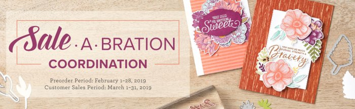 Stampin Up, promotion, sale-a-bration, SAB, #creativeleeyours, wendy lee, creatively yours, free products, stamping, paper crafting, handmade, coordinating products, stampin up, SU, creative-lee yours, Diemonds team, business opportunity, DIY, fellowship, 2nd release, March 2019 promotion