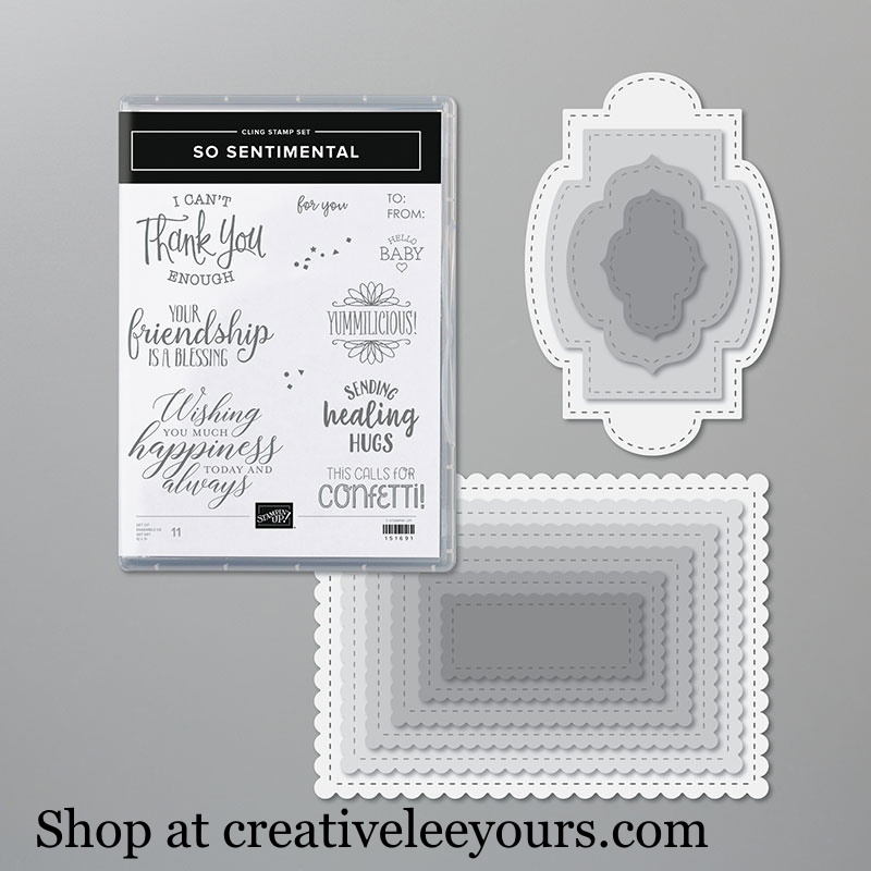 So Sentimental Bundle, Wendy Lee, stampin up, handmade cards, rubber stamps, stamping, #creativeleeyours, creatively yours, creative-lee yours, friend, celebration, smile, thank you, birthday, congrats, amazing, love, video, DIY, 3D, cupcakes, heart tins, #su , #stampinupdemonstrator, #papercrafts , #papercraft , #papercrafting , #makeacardsendacard ,#makeacardchangealife , so sentiment stamp set, stitched so sweetly dies