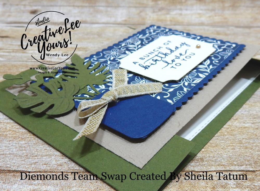 Birthday Love by Sheila Tatum, Wendy Lee, stampin Up, SU, #creativeleeyours, handmade card, Boho Indigo stamp set, friend, celebration, stamping, creatively yours, creative-lee yours, DIY, birthday, papercrafts, business opportunity, #makeacardsendacard ,#makeacardchangealife , #diemondsteam ,#diemondsteamswap ,#businessopportunity, rubberstamps, #stampinupdemonstrator , #cardmaking, #papercrafts , #papercraft , #papercrafting , #papercraftingsupplies, #papercraftingisfun,boho indigo product medley, vases