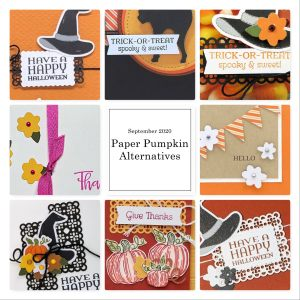 Wendy Lee, September 2020 Paper Pumpkin Kit, stampin up, handmade cards, rubber stamps, stamping, kit, subscription, #creativeleeyours, creatively yours, creative-lee yours, celebration, smile, thank you, birthday, pumpkin, witch hat, cats, flowers, congrats, bonus tutorial, fast & easy, DIY, #simplestamping, card kit, subscription, craft kit, fall, autumn