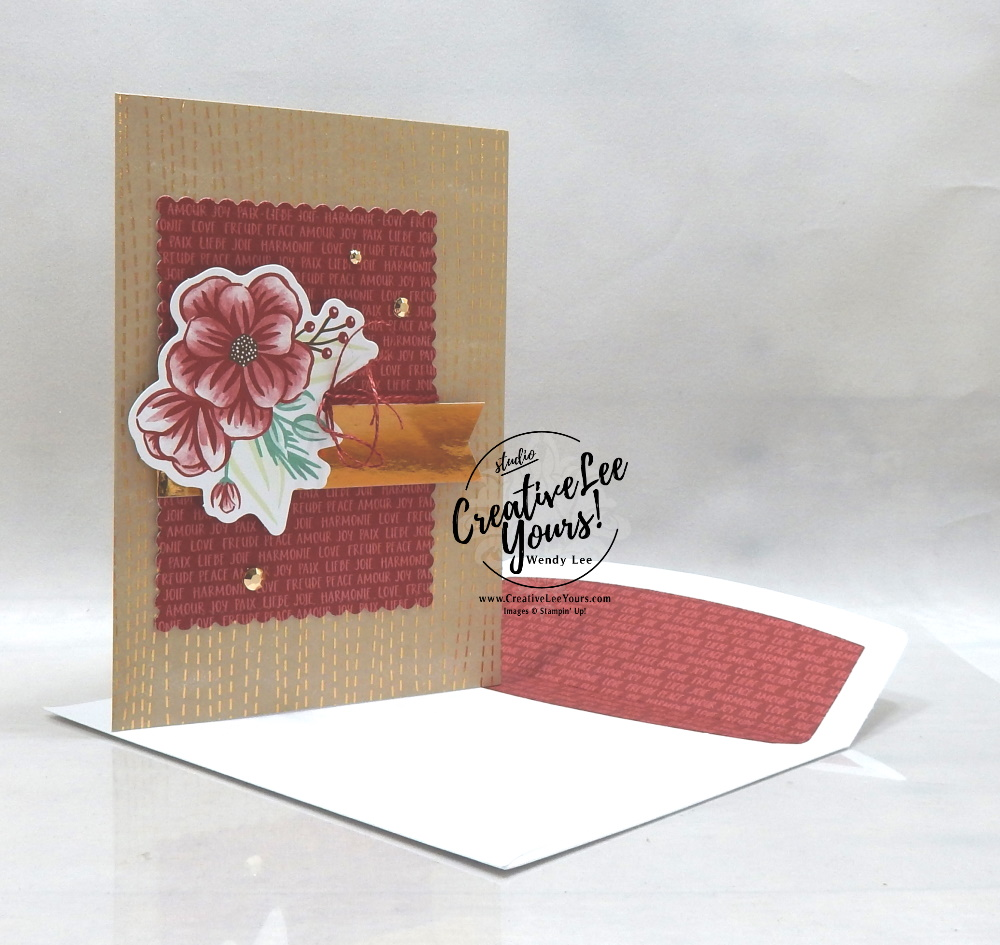 Peace Joy Love by Wendy Lee, October 2020 Paper Pumpkin Kit, Joy to the world, stampin up, handmade cards, rubber stamps, stamping, kit, subscription, #creativeleeyours, creatively yours, creative-lee yours, celebration, smile, thank you, birthday, Christmas, flowers, congrats, wreath, joy, peace, love, bonus tutorial, fast & easy, DIY, #simplestamping, card kit, subscription, craft kit, #paperpumpkinalternates , #paperpumpkinalternative ,#paperpumpkinalternatives, #papercraftingkit