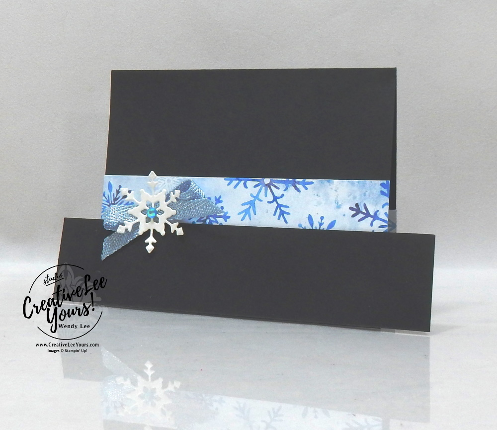 Snowman Hat Gift Card Holder by Wendy Lee, stampin Up, SU, #creativeleeyours, handmade card, Snowflake Wishes stamp set, Christmas, friend, celebration, thank you, stamping, creatively yours, creative-lee yours, DIY, birthday, gift card holder, papercrafts, rubberstamps, #stampinupdemonstrator , #papercrafts , #papercraft , #papercrafting , #papercraftingsupplies, #papercraftingisfun, facebook live, video , ornate layers, so many snowflakes