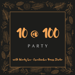 10 at 100, Holiday party, wendy lee, Diemonds Team, Stampin Up, #creativeleeyours, creatively yours, creative-lee yours, SU, business opportunity, make extra money, DIY, paper craft, gift tags, ornaments, treats, free products, prizes, rubber stamps, quick projects, stamping, Pfafftown, Winston-salem, Clemmons, lewisville, piedmont triad, fellowship, local events, crafts, holiday, christmas
