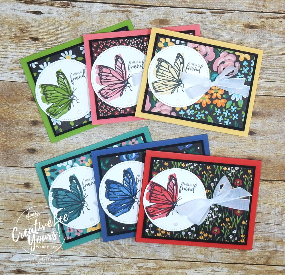 Hello Friend by Wendy Lee, stampin up, handmade cards, rubber stamps, stamping, #creativeleeyours, creatively yours, creative-lee yours, DIY, #su , #stampinupdemonstrator, #papercrafts , #papercraft , #papercrafting , #makeacardsendacard ,#makeacardchangealife , A Touch of Ink stamp set, online workshop, Flowers for every season, pattern paper, #cardmaking, ,#cardclasses ,#onlinecardclasses, #papercraftingsupplies, #papercraftingisfun, #papercraftingideas, ,#SAB, #saleabration, 2step stamping