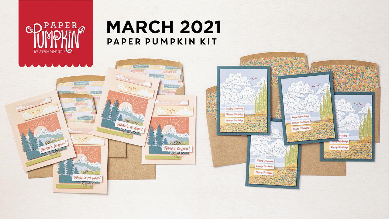 Wendy Lee, March 2021 Paper Pumpkin Kit, Here's to you, free gift,stencil set, stampin up, handmade cards, rubber stamps, stamping, kit, subscription, #creativeleeyours, creatively yours, creative-lee yours, celebration, smile, thank you, hope, sorry, birthday, thinking of you, love, congrats, lucky, feel better, sympathy, get well, grateful, comfort, encouragement, love, anniversary, wedding, majestic, mountain, landscapes, bonus tutorial, fast & easy, DIY, #simplestamping, card kit, subscription, craft kit,