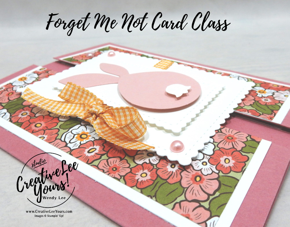Standing Gate Fold by Wendy Lee, #creativeleeyours , #stampinup , #su , #stampinupdemonstrator , #cardmaking, #handmadecard, #rubberstamps, #stamping, #DIY, #papercrafts , #papercraft , #papercrafting , #papercraftingsupplies, #papercraftingisfun, #papercraftingideas, #makeacardsendacard ,#makeacardchangealife , Stampers Showcase Blog Hop, #cardclass ,#cardclub ,#cardclasses ,#onlinecardclasses ,#funfoldcards ,#funfoldcard ,#tutorial ,#tutorials ,#technique ,#techniques ,#fmn ,#forgetmenot, spring, Easter, Ornate Garden,#undermyumbrella, #tulipbuilderpunch, #balloonbouquetpunch, #detailedbandsdies, #stitchedsosweetlydies
