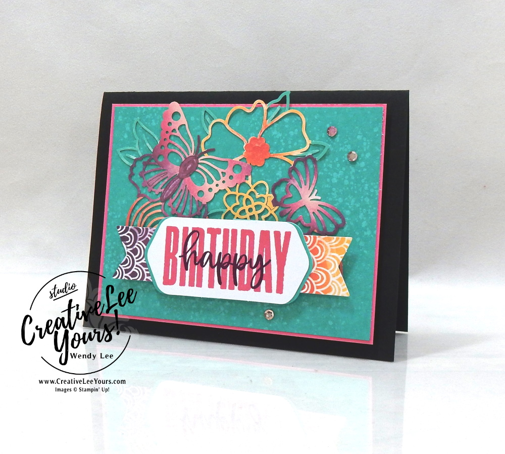 Happy Birthday by Wendy Lee, August 2021 Paper Pumpkin Kit, Hope Box, nature, butterflies, stampin up, handmade cards, rubber stamps, stamping, kit, subscription, #creativeleeyours, creatively yours, creative-lee yours, celebration, smile, thank you, birthday, sorry, thinking of you, love, congrats, lucky, feel better, butterflies, sympathy, get well, grateful, comfort, encouragement, hearts, valentine, anniversary, wedding, appreciation, bonus tutorial, fast & easy, DIY, #simplestamping, card kit, subscription, craft kit, #paperpumpkinalternates , #paperpumpkinalternative ,#paperpumpkinalternatives, #papercraftingkit
