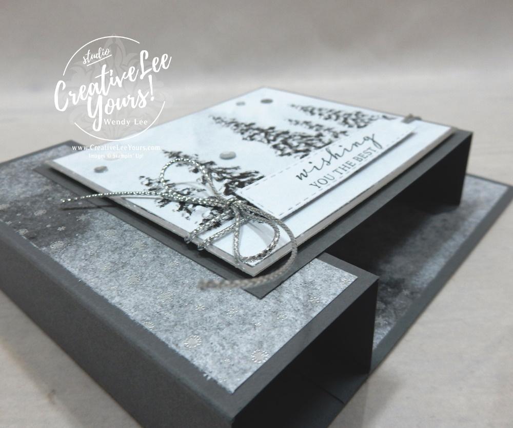 Peaceful Double Box Fun Fold by Wendy Lee, #creativeleeyours , #stampinup , #su , #stampinupdemonstrator , #cardmaking, #handmadecard, #rubberstamps, #stamping, #DIY, #papercrafts , #papercraft , #papercrafting , #papercraftingsupplies, #papercraftingisfun, #papercraftingideas, #makeacardsendacard ,#makeacardchangealife , #doubleboxfunfoldcard, #peacefulcabin, #peacefulplace friend, ,#tutorial ,#tutorials , #funfoldcards ,#funfoldcard, implestamping