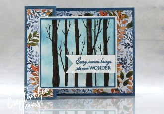 Every Season Double Box Fun Fold by Belinda Rodgers, Wendy Lee, Welcoming Woods stamp set, Beauty Of The Earth, stampin up, stamping, SU, #creativeleeyours, creatively yours, creative-lee yours, #cardmaking #handmadecard #rubberstamps #stamping, friend, celebration, congratulations, anniversary, wedding, Fall, Autumn, thank you, hello, birthday, warm wishes, stamping, DIY, paper crafts, #papercrafting , #papercraftingsupplies, #papercraftingisfun , #makeacardsendacard ,#makeacardchangealife, #diemondsteam, #businessopportunity, #diemondsteamswap, #funfoldcards, ,#funfoldcards ,#funfoldcard