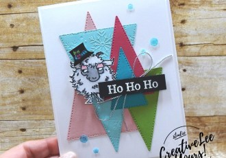 Christmas Goat by wendy lee, Way To Goat stamp set, Perfectly Plaid stamp set, Snowman Season stamp set, stampin up, stamping, SU, #creativeleeyours, creatively yours, creative-lee yours, #cardmaking, #handmadecard, #rubberstamps, #stamping, friend, celebration, congratulations, thank you, hello, birthday, thinking of you, love, anniversary, masculine, Christmas, Holiday, DIY, paper crafts, #papercrafting , #papercraftingsupplies, #papercraftingisfun, #stampinupdemonstrator, tutorial, stitched triangles ,#cardclub ,#cardclasses ,#onlinecardclasses,#fmn ,#forgetmenot