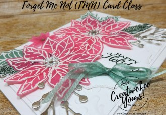 Shimmery Poinsettia by wendy lee, Trip Achievers Blog Hop, Western Caribbean, stampin up, stamping, SU, #creativeleeyours, creatively yours, creative-lee yours, #cardmaking, #handmadecard, #rubberstamps, #stamping, friend, celebration, congratulations, thank you, hello, birthday, thinking of you, love, anniversary, masculine, Christmas, Holiday, DIY, paper crafts, #papercrafting , #papercraftingsupplies, #papercraftingisfun, #stampinupdemonstrator, #incentivetrip, Poinsettia Petals stamp set, Poinsettia dies, tutorial, shimmery vellum, ,#cardclub ,#cardclasses ,#onlinecardclasses,#fmn ,#forgetmenot