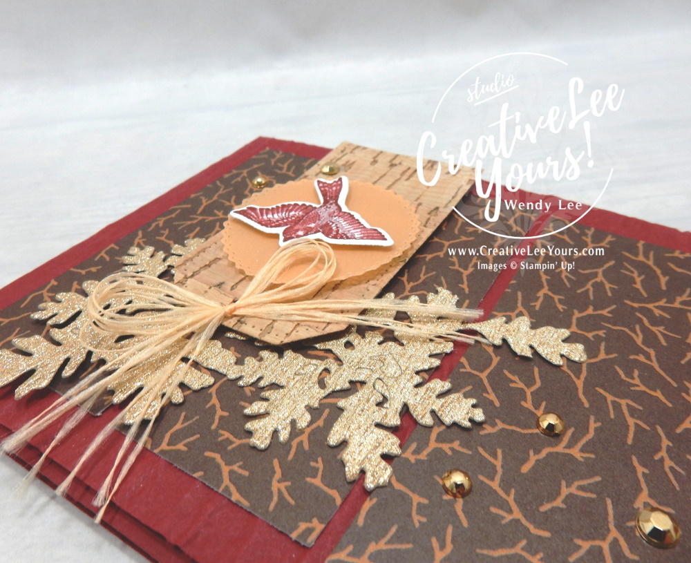 Metallic Leaves by Wendy Lee, All star tutorial bundle, #wendylee , #creativeleeyours , #stampinup , #su , #stampinupdemonstrator , #cardmaking, #handmadecard, #rubberstamps, #stamping, #cardclass, # cardclasses ,#onlinecardclasse,#tutorial ,#tutorials #DIY, #papercrafts , #papercraft , #papercrafting , #papercraftingsupplies, #papercraftingisfun, #papercraftingideas, #makeacardsendacard ,#makeacardchangealife, #subscription, #product suites, Expressions In Ink Suite, Bloom Where You Are Planted Suite, You're A Peach Suite, Blackberry beauty Suite, Sweet Symmetry Suite, Hand Penned Suite, #allstardesignteambloghop