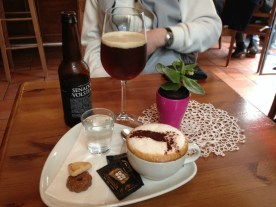 A much needed coffee and artisanal beer break in Lugano