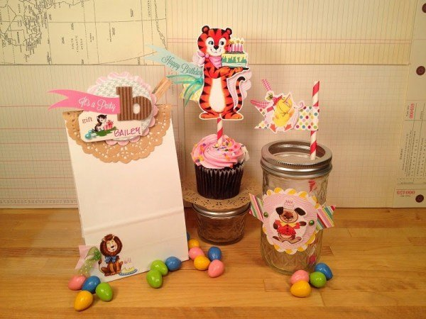 First Birthday Party Decor with Tombow USA and Pretty Little Studio