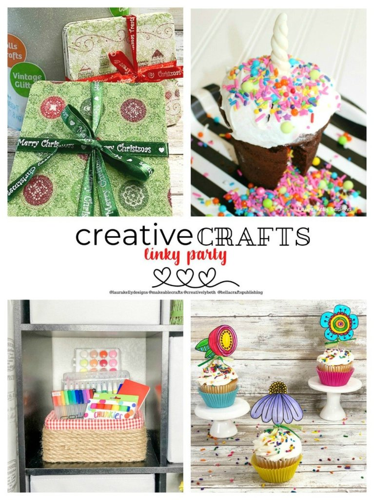Creative Crafts Linky Party #1 Featured Projects