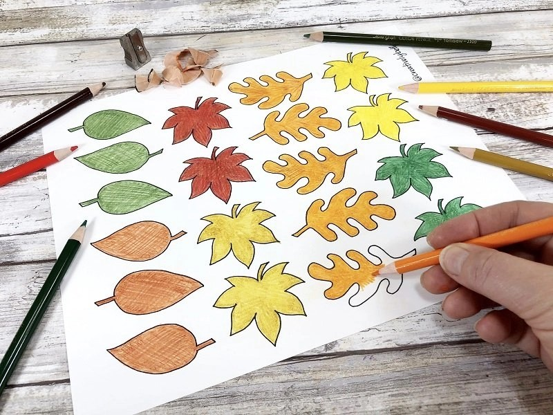 Free Printable Thankful Tree and Leaves to Color by Creatively Beth #creativelybeth #freeprintable #thanksgiving #coloringpage